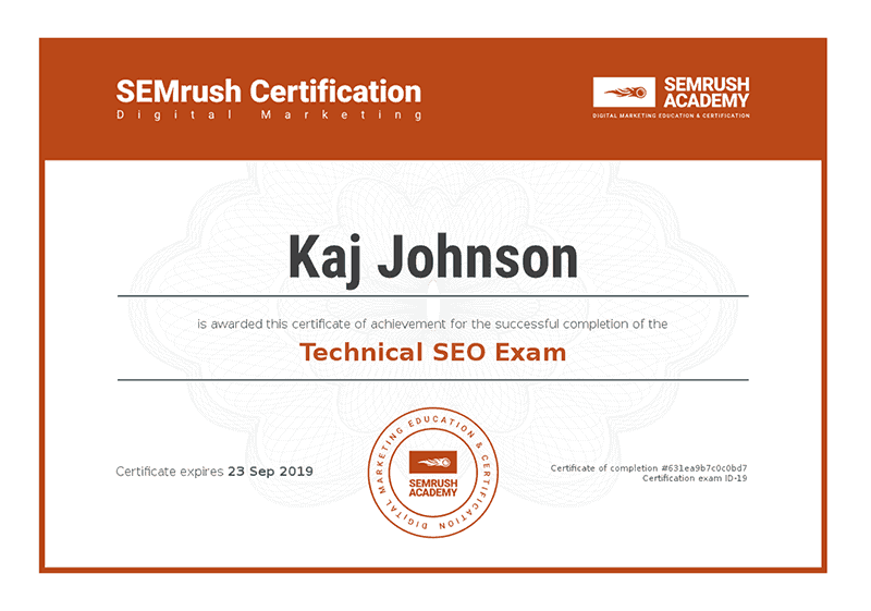 SEMrush-Academy-Technical-SEO-Certificate